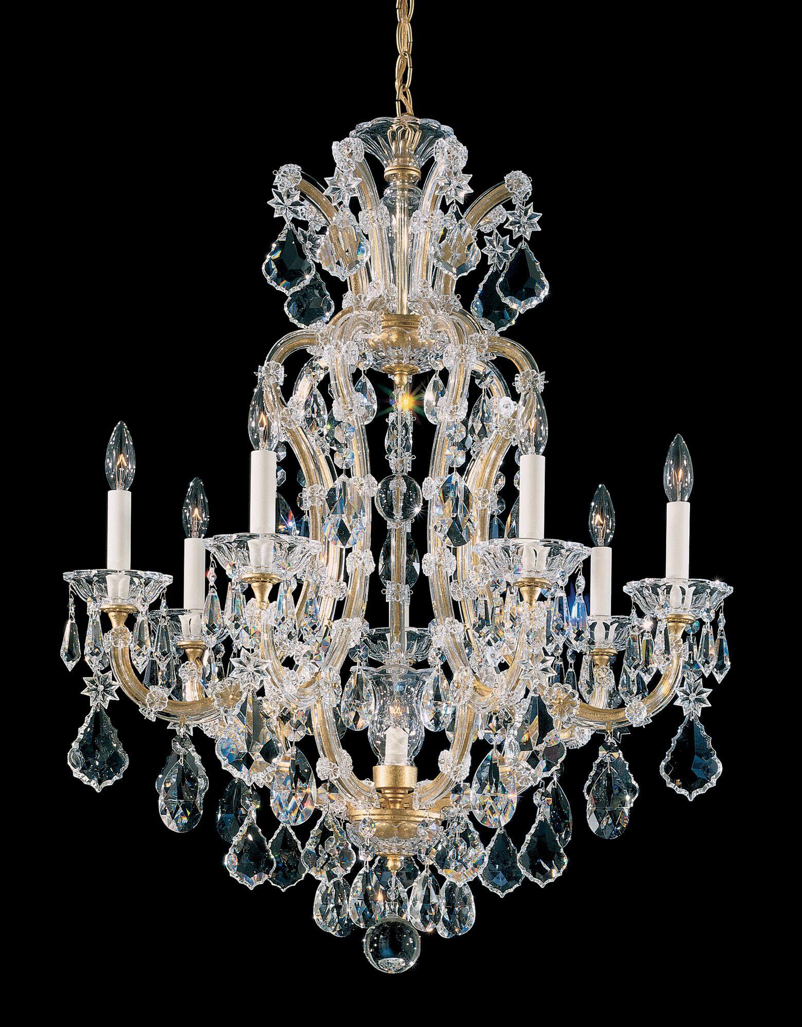 Maria Theresa 8-Light Chandelier Finish: Heirloom Gold