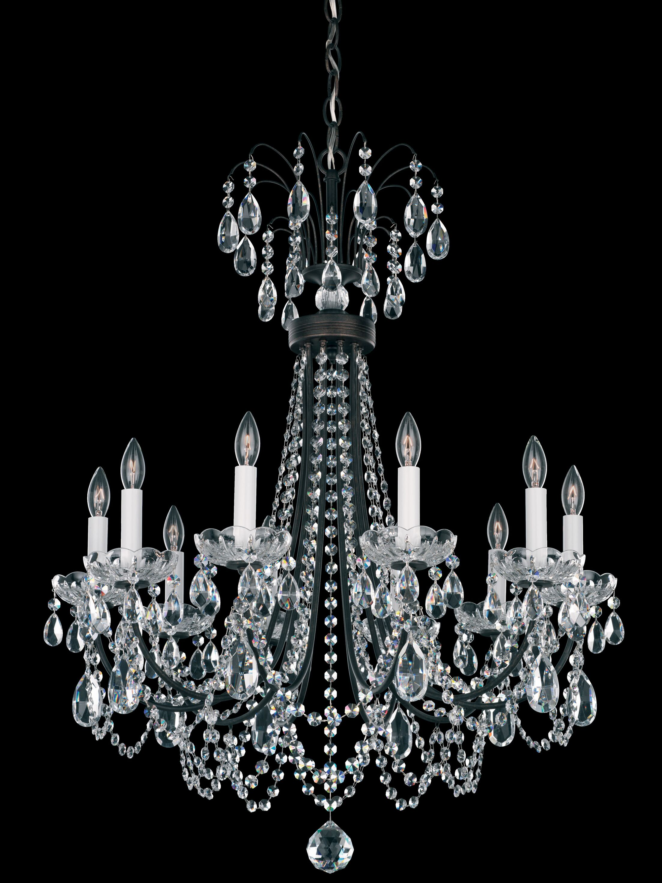 Lucia 10-Light Chandelier Color: French Gold
