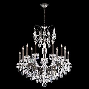 Sonatina 14-Light Chandelier Finish: Black Pearl, Crystal Type: Heritage Clear