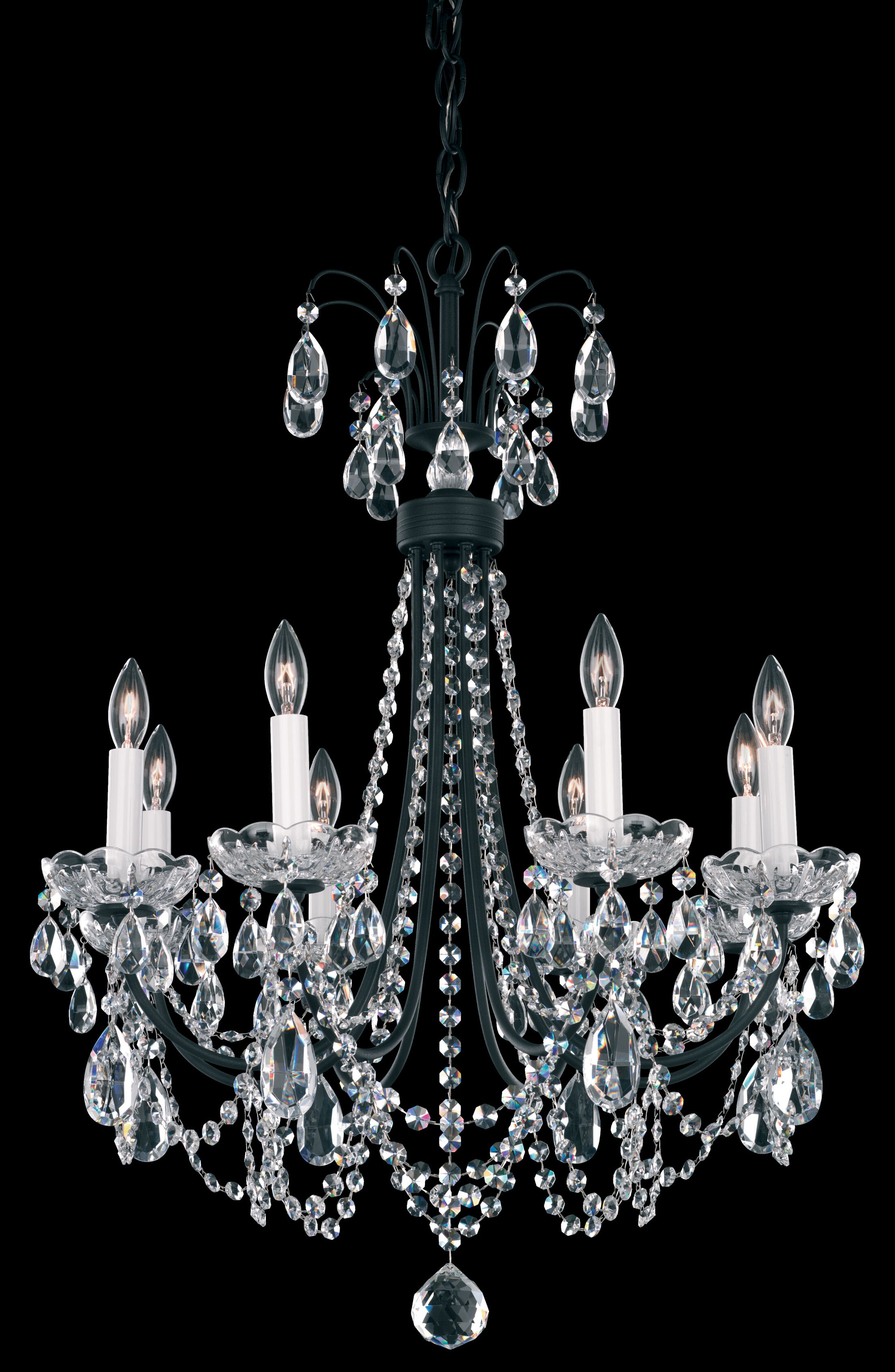 Lucia 8-Light Chandelier Color: French Gold