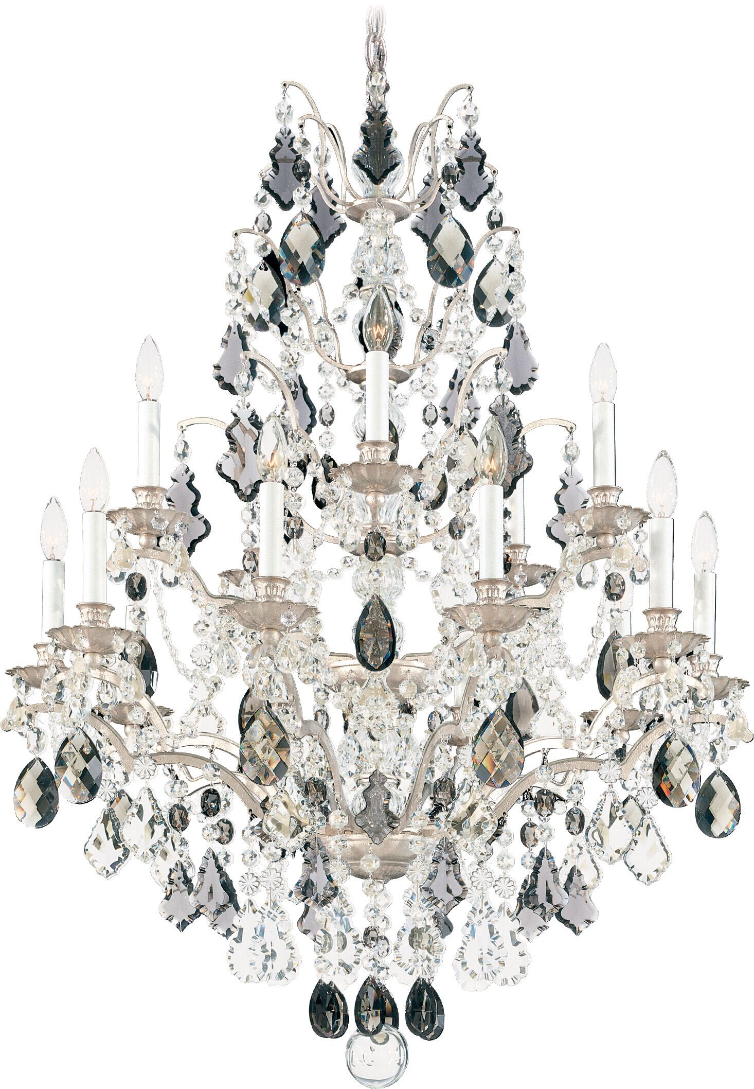 Bordeaux 15-Light Chandelier Finish: Etruscan Gold, Crystal Color: Legacy Clear