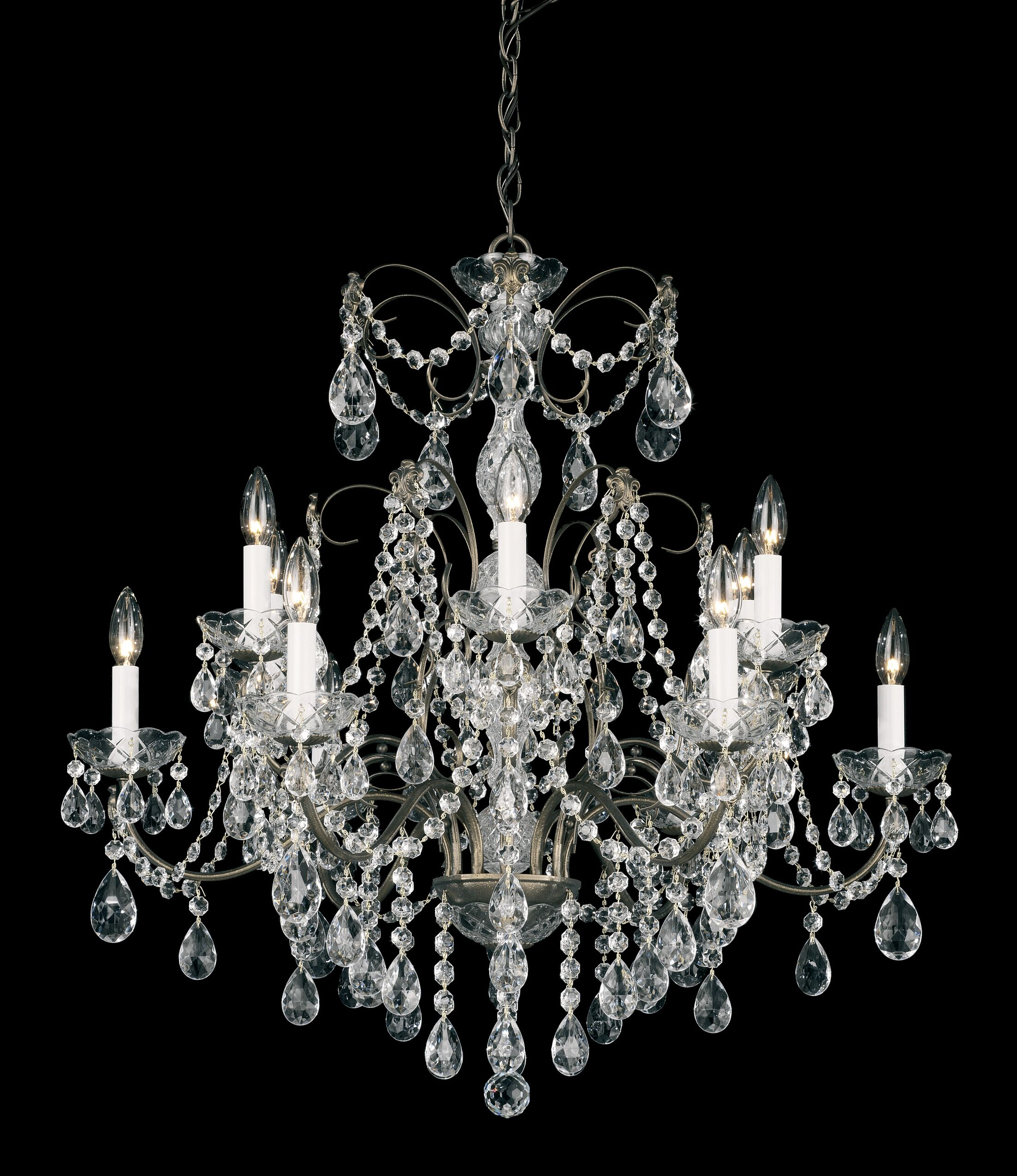 Madison 12-Light Chandelier Finish: Aurelia