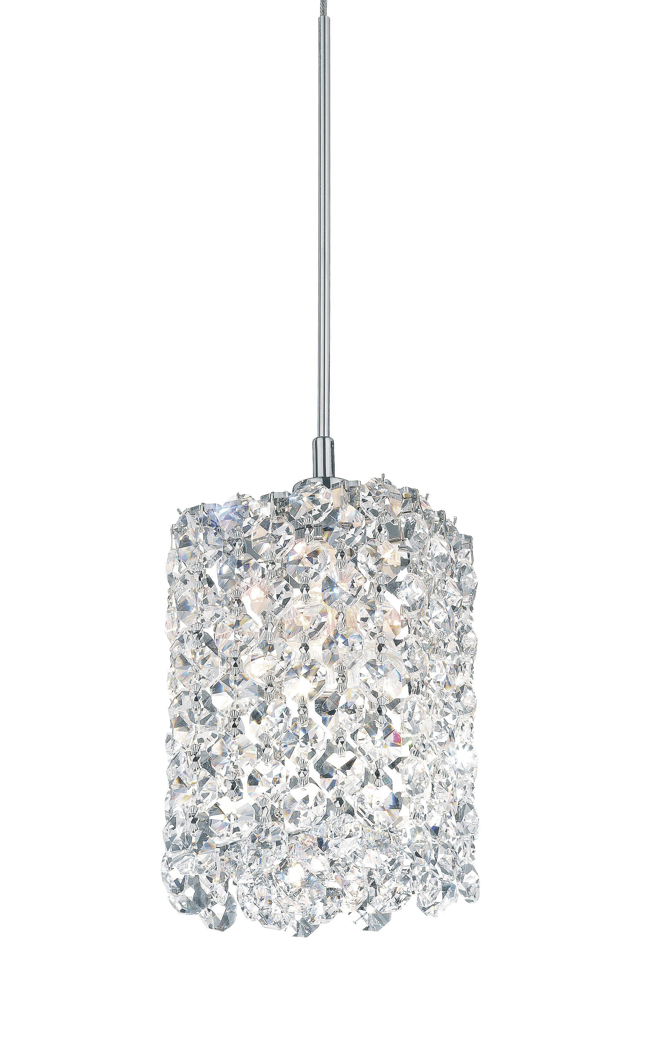 Refrax 1-Light Mini Crystal Pendant Crystal Type: Swarovski Elements Bullet