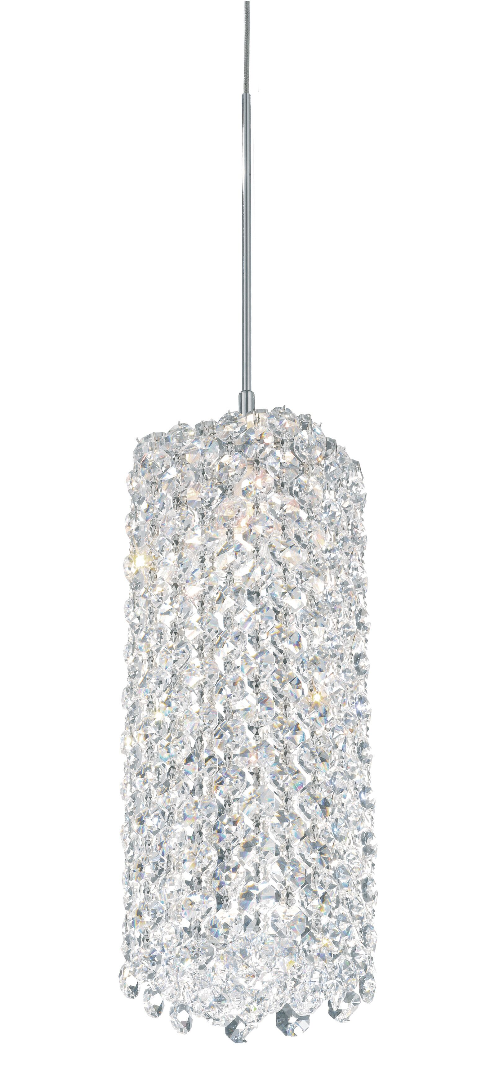 Refrax 1-Light Crystal Pendant Crystal Type: Swarovski Elements Bullet