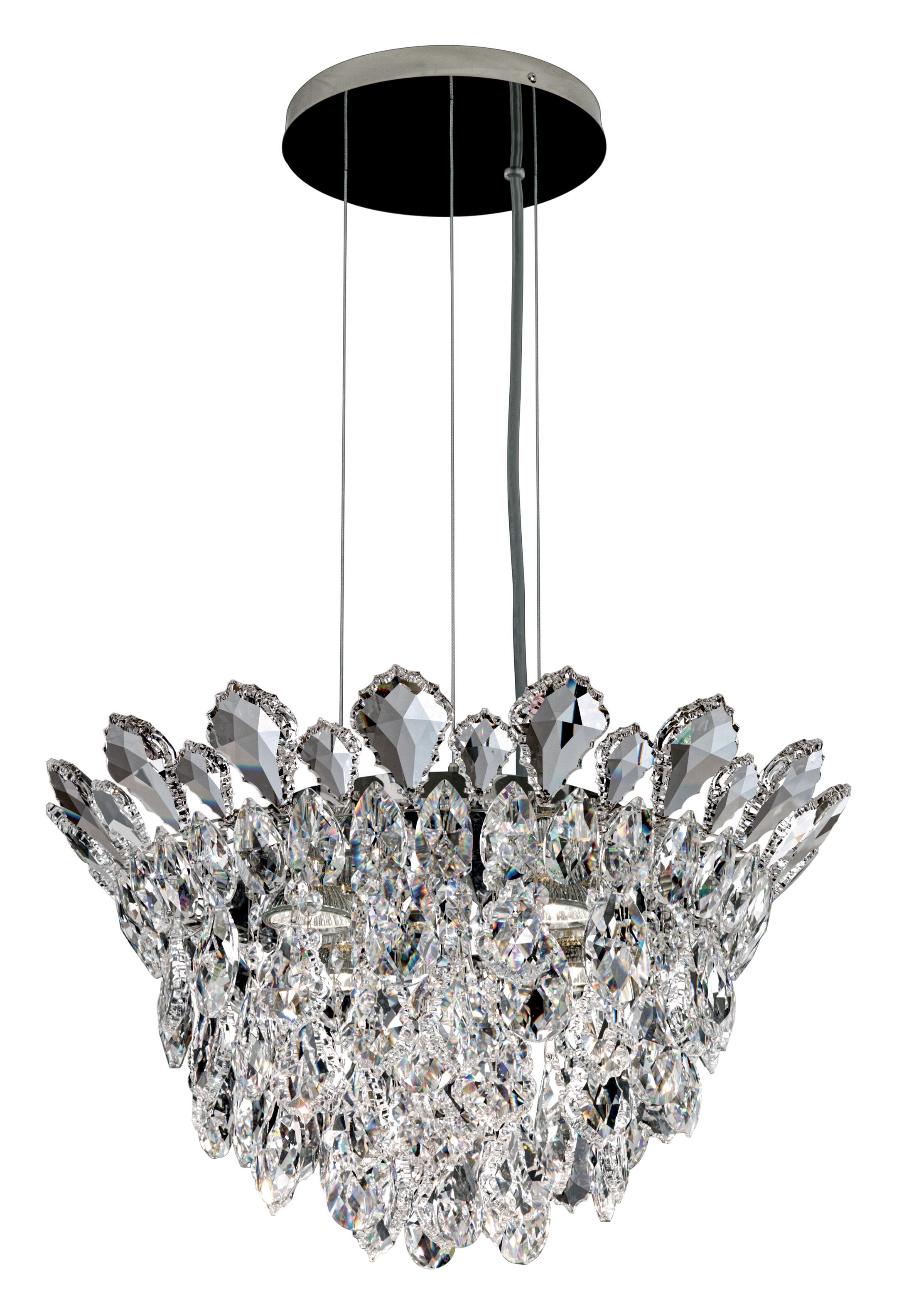 Trilliane 4-Light Crystal Chandelier Crystal Grade: Heritage Handcut