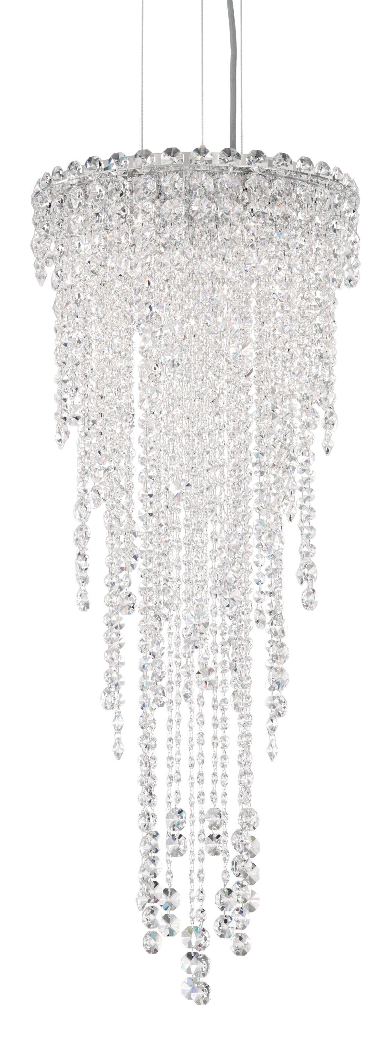 Chantant 4-Light Crystal Chandelier Crystal Grade: Heritage Handcut, Size: 35