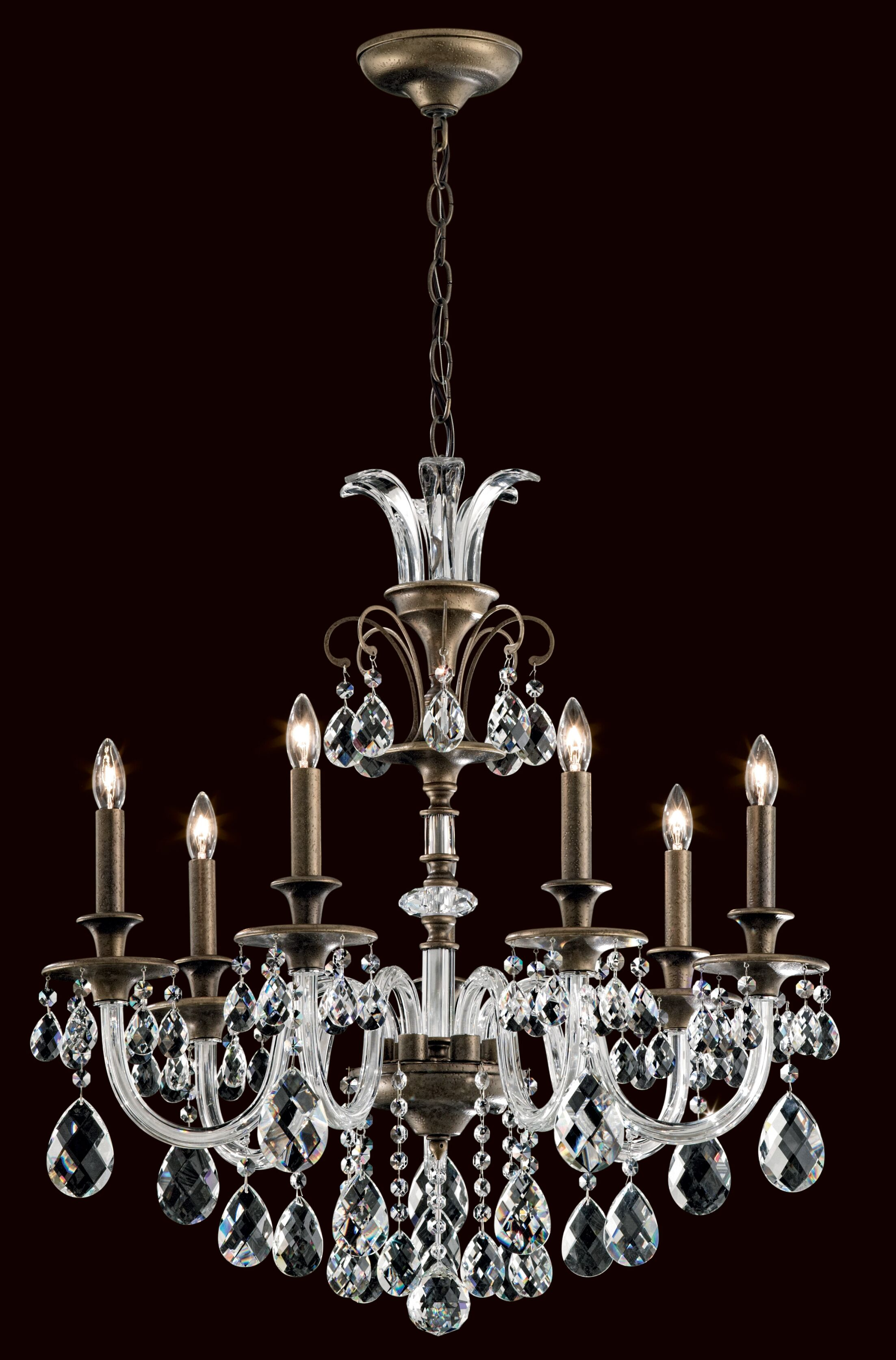 Rivington 7-Light Chandelier Finish: Etruscan Gold