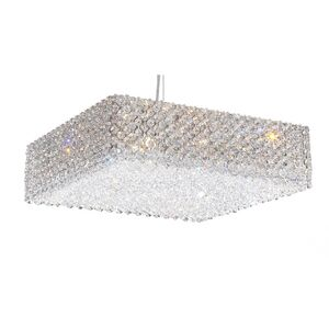 Refrax 13-Light Crystal Chandelier Crystal Type: Swarovski Elements Azurite