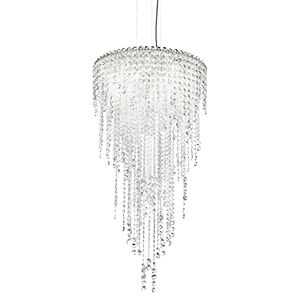Chantant 5-Light Chandelier Crystal Grade: Heritage Clear
