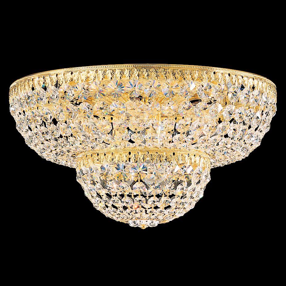 Petit 9-Light Flush Mount Crystal Type: Swarovski Elements Clear