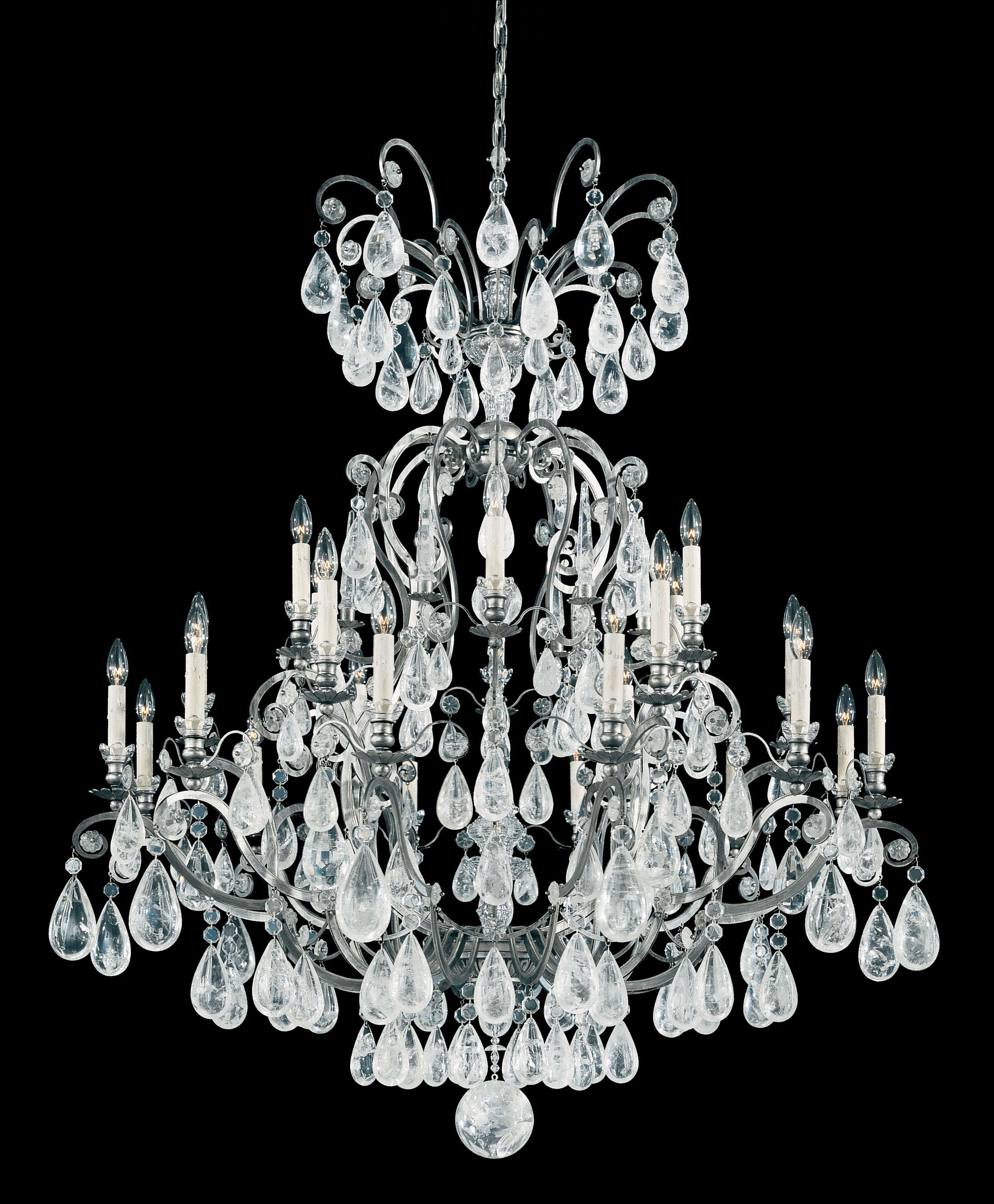 Versailles 25-Light Chandelier Finish: Heirloom Gold