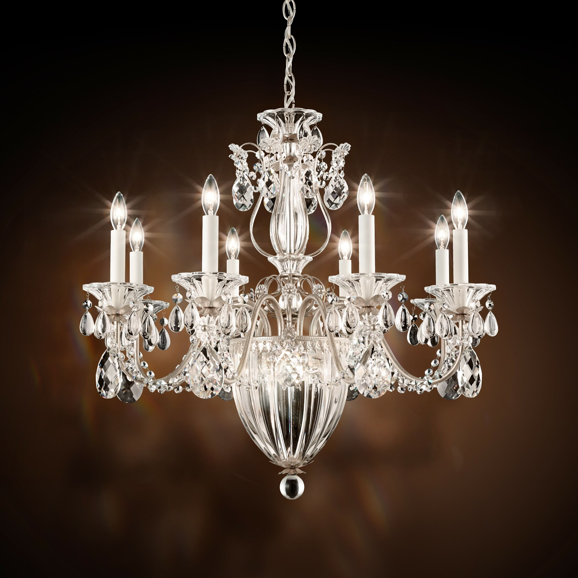 Bagatelle 8-Light Chandelier Finish: French Gold, Crystal: Swarovski Clear Crystal