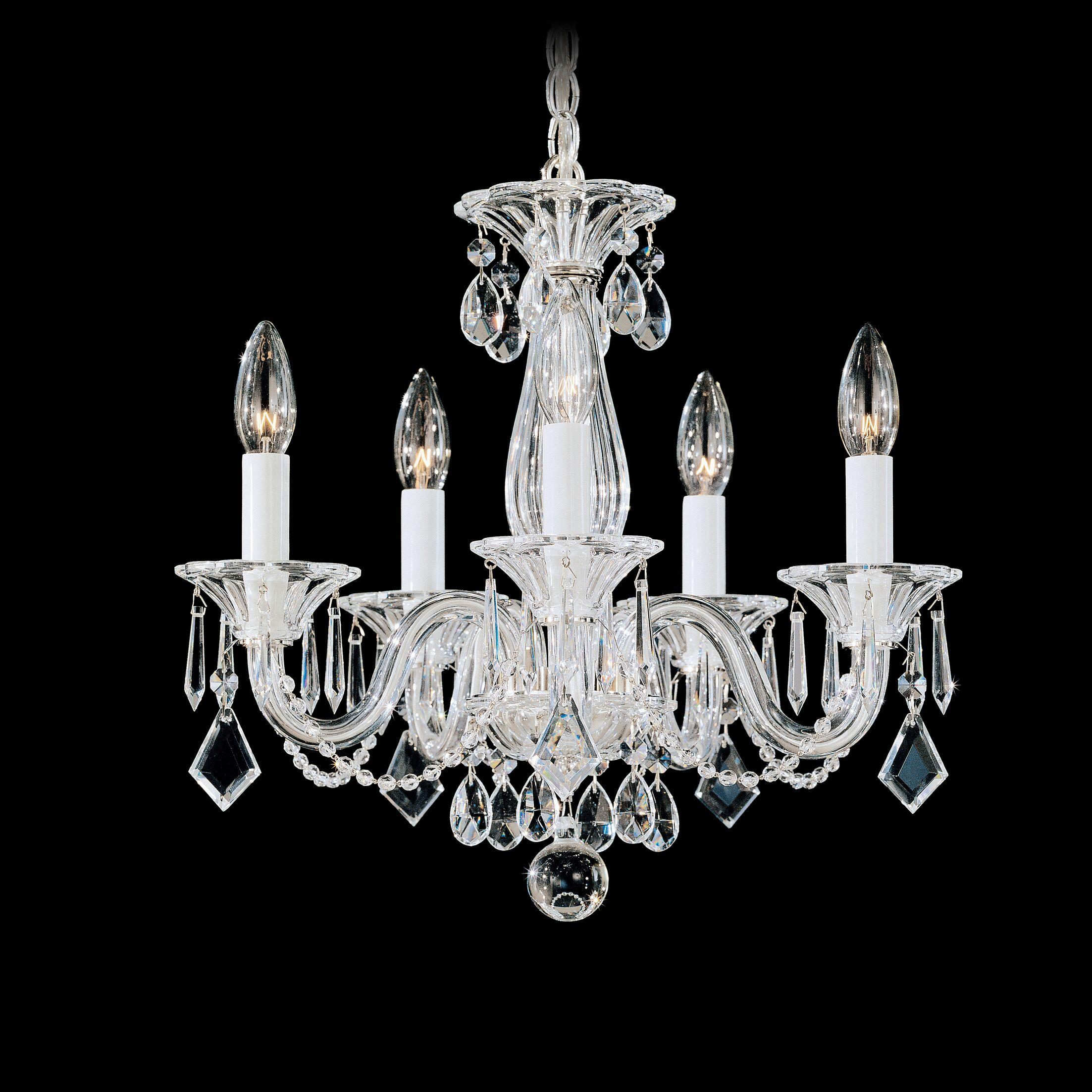 Allegro 5-Light Chandelier Crystal Color: Clear
