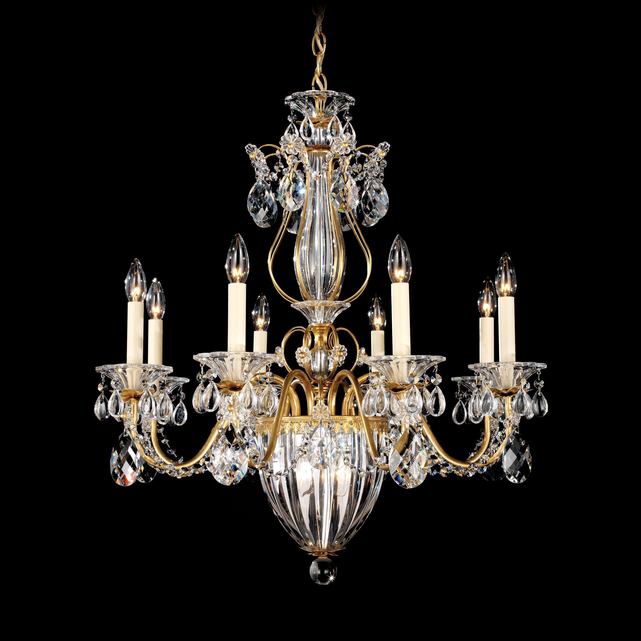 Bagatelle 11-Light Chandelier Finish: Heirloom Bronze, Crystal: Heritage Handcut Crystal Clear