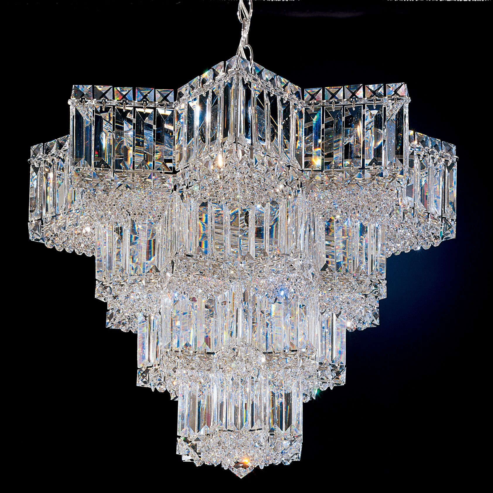 Equinoxe 15-Light Chandelier Color: Silver