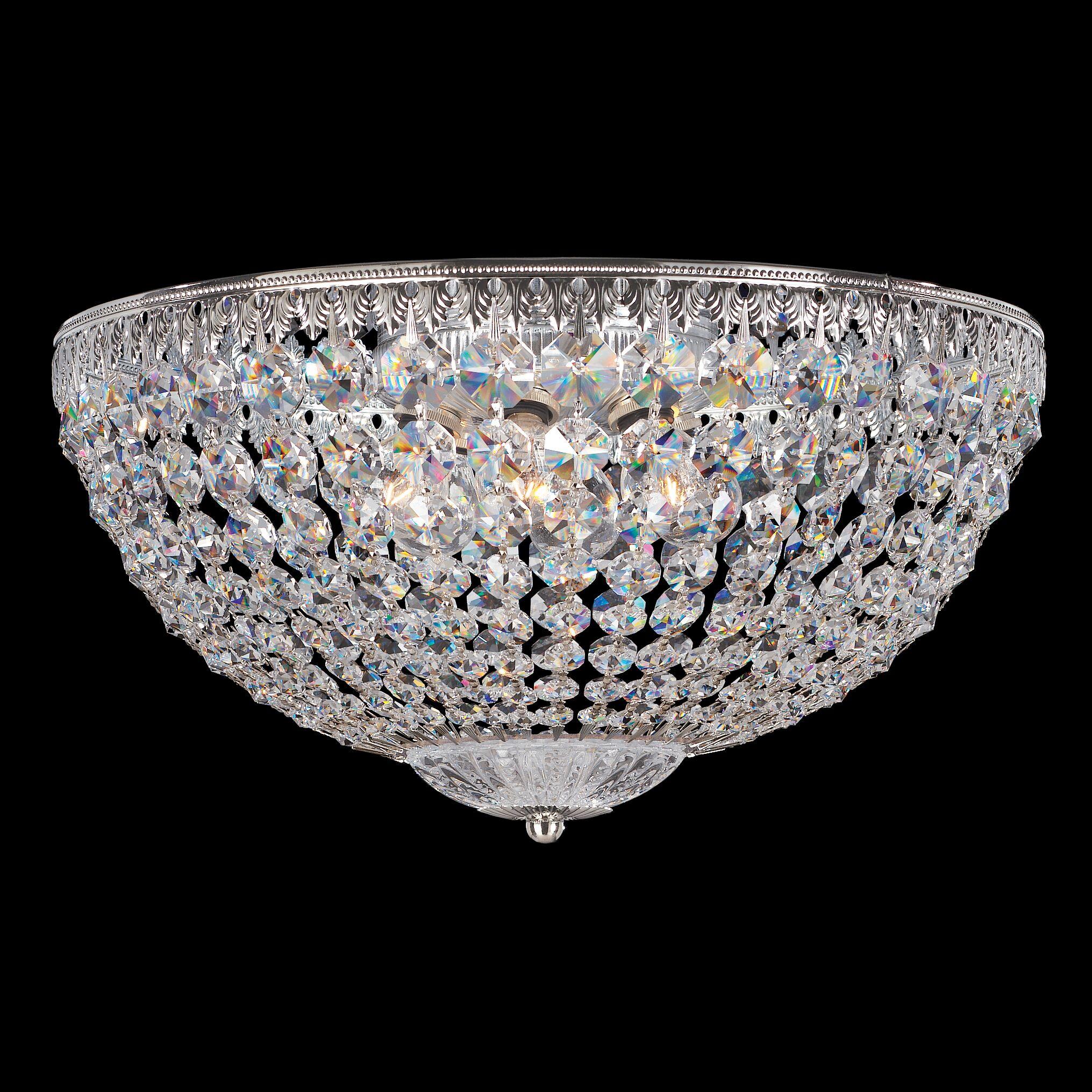Petit 5-Light Flush Mount Crystal Type: Swarovski Elements Clear