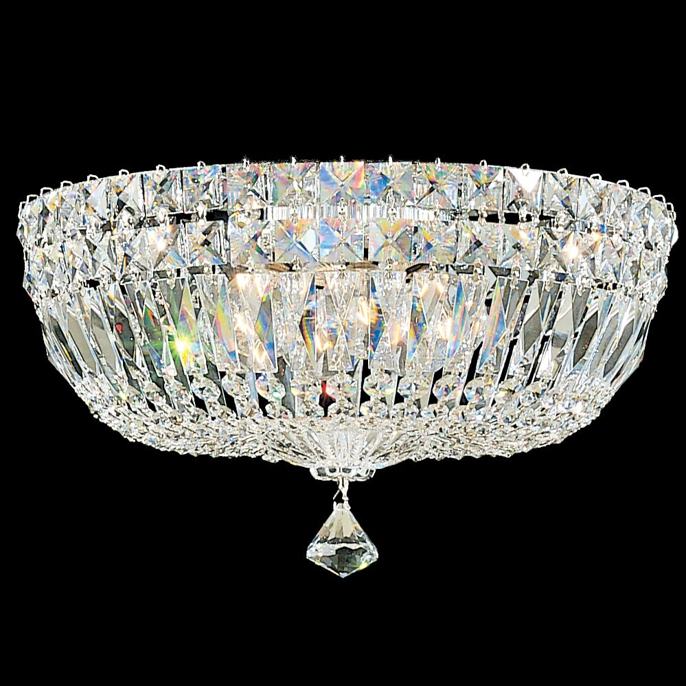 Petit 5-Light Flush Mount Finish: Aurelia, Crystal Type: Swarovski Elements Clear