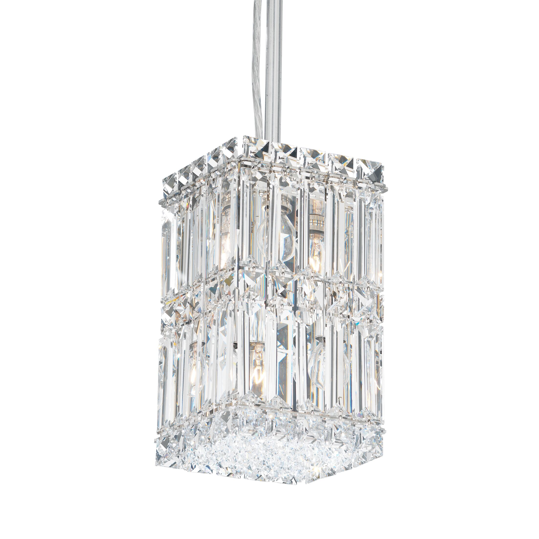 Quantum 2-Light Crystal Pendant Height / Crystal Color: 25