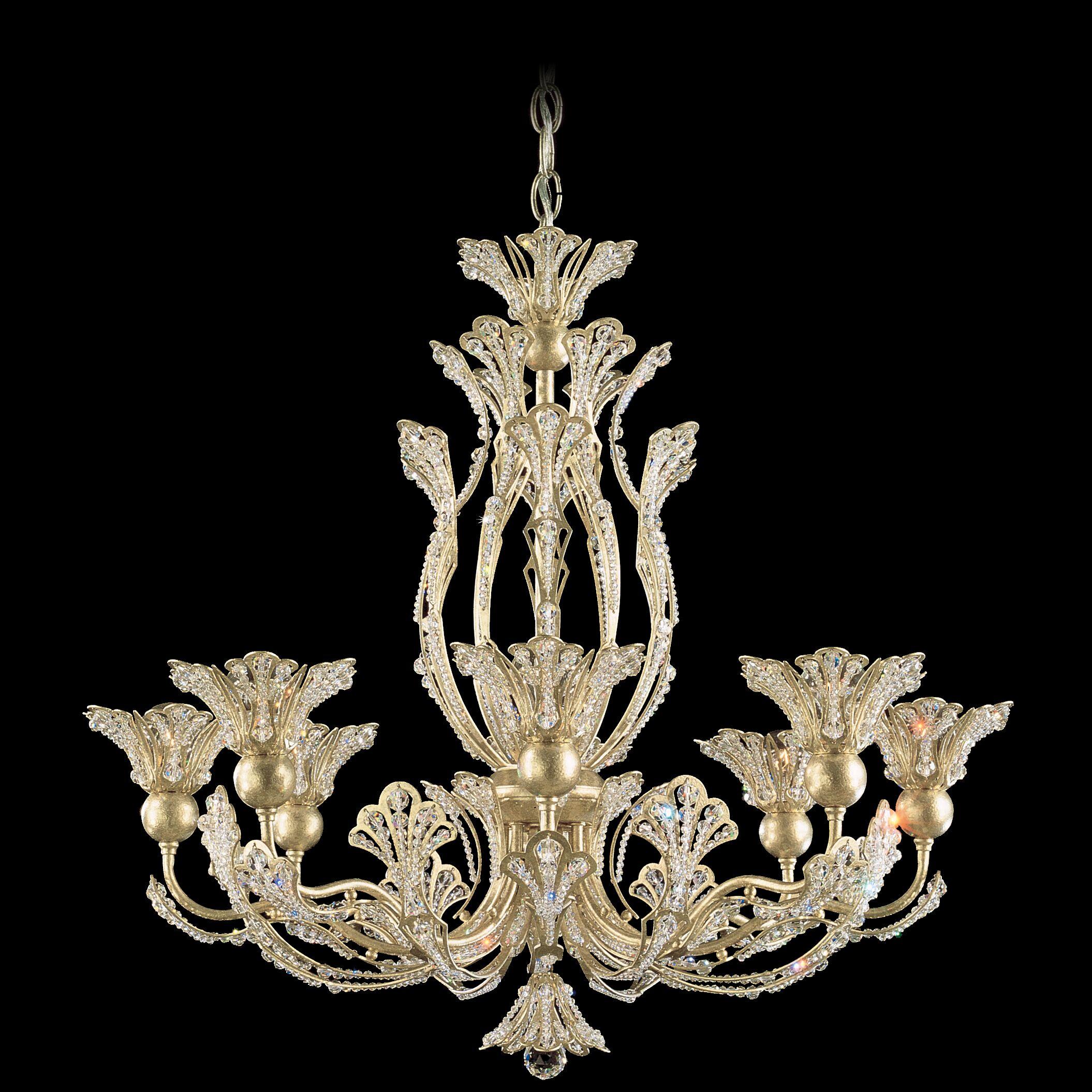 Rivendell 8-Light Chandelier Finish: Heirloom Bronze, Crystal Color: Spectra Crystal Clear