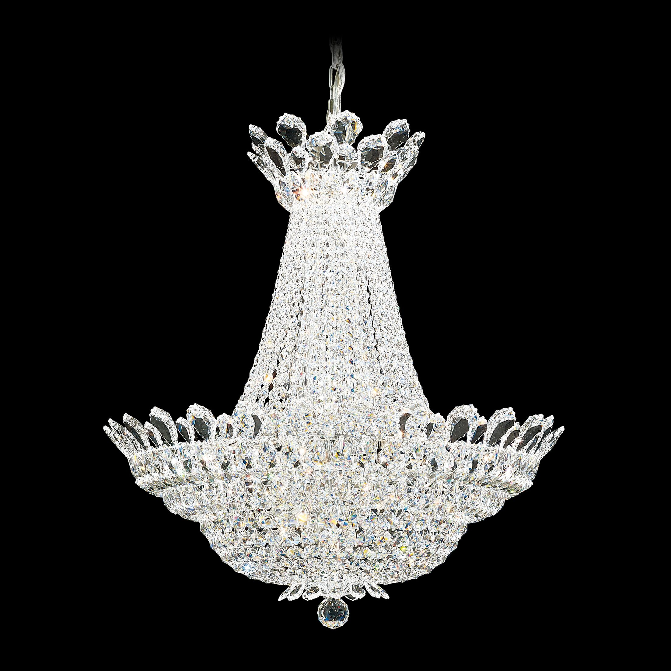 Trilliane Empire Chandelier Size / Crystal Color: 30