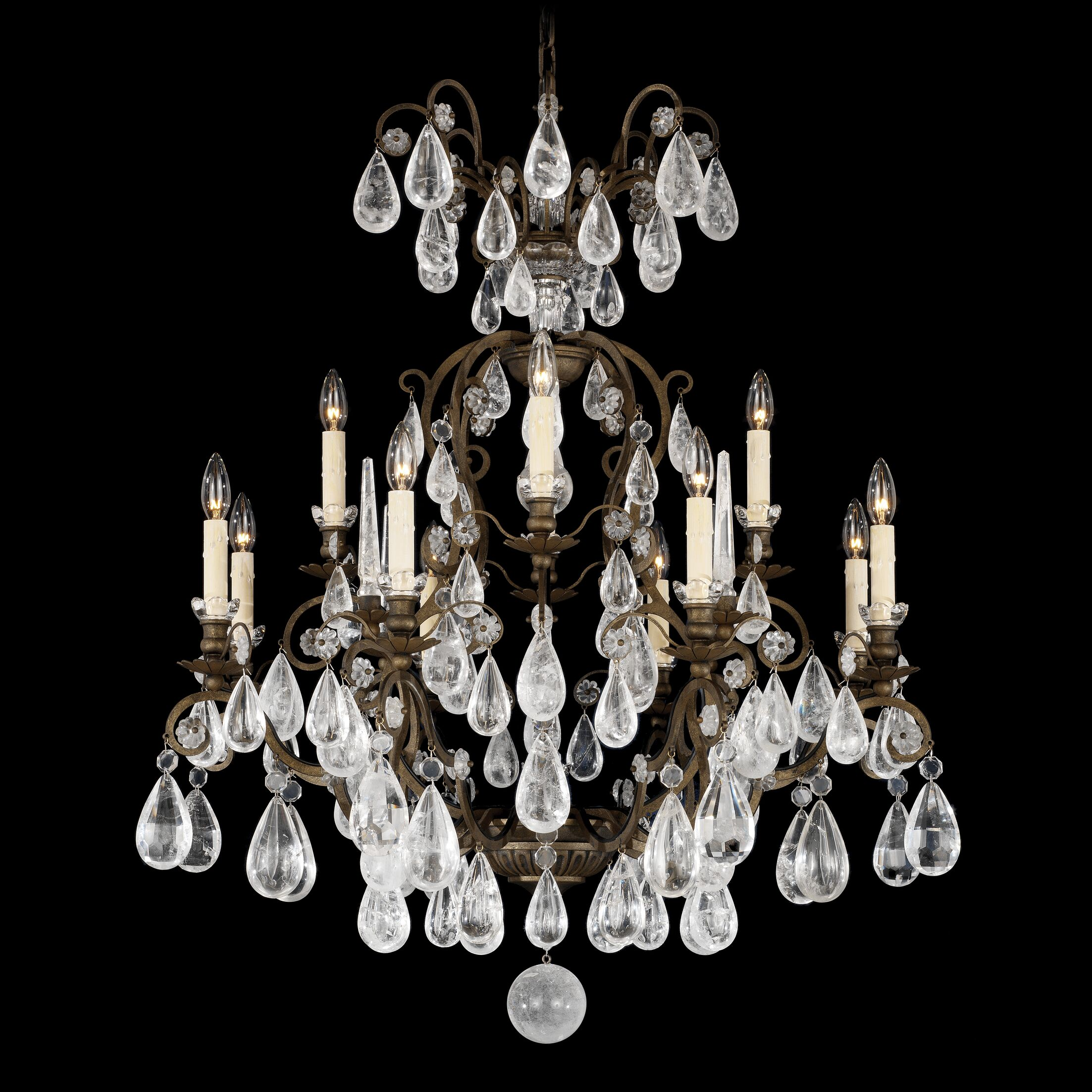 Versailles 12-Light Chandelier Finish: French Gold