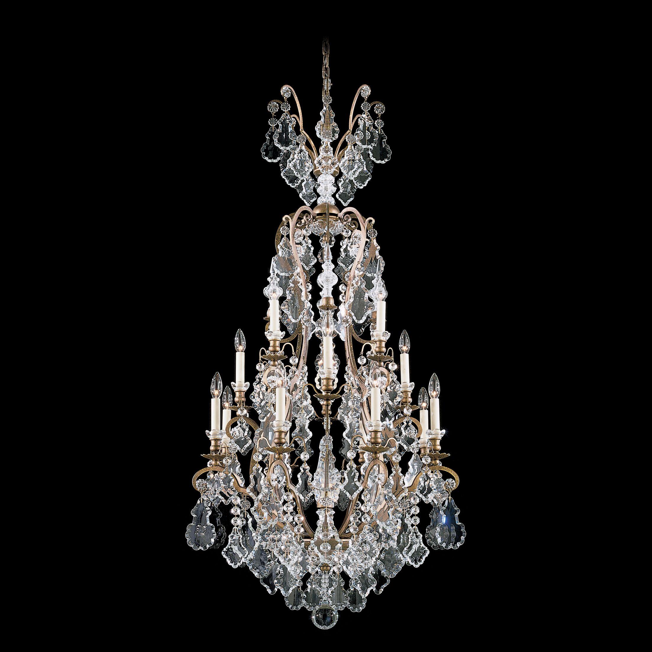Versailles 16-Light Chandelier Finish: Heirloom Gold