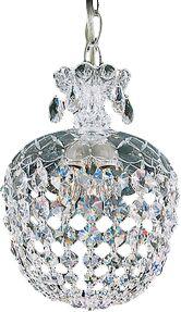 Olde World 3-Light Crystal Pendant