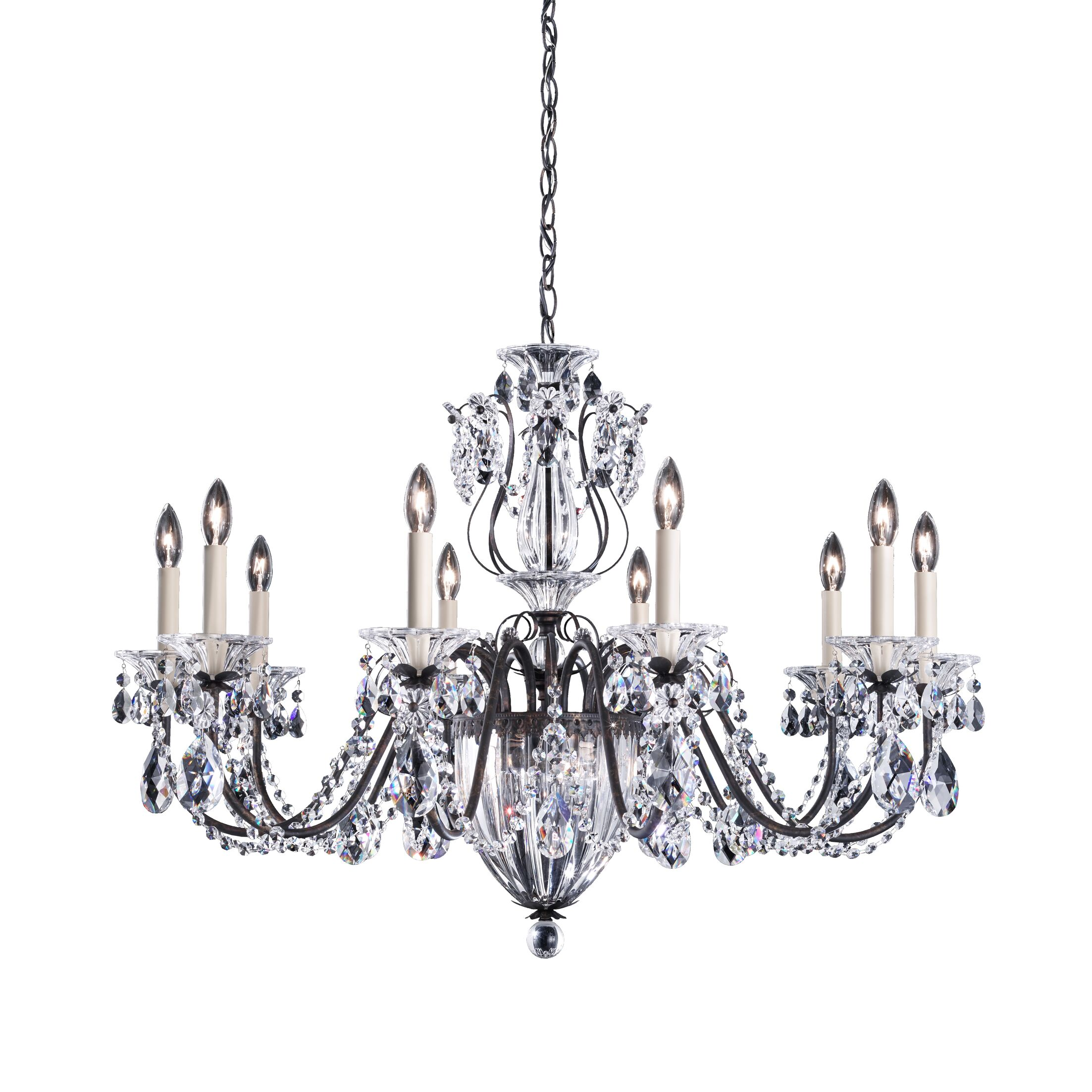 Bagatelle 13-Light Chandelier Finish: Heirloom Gold, Crystal Grade: Spectra