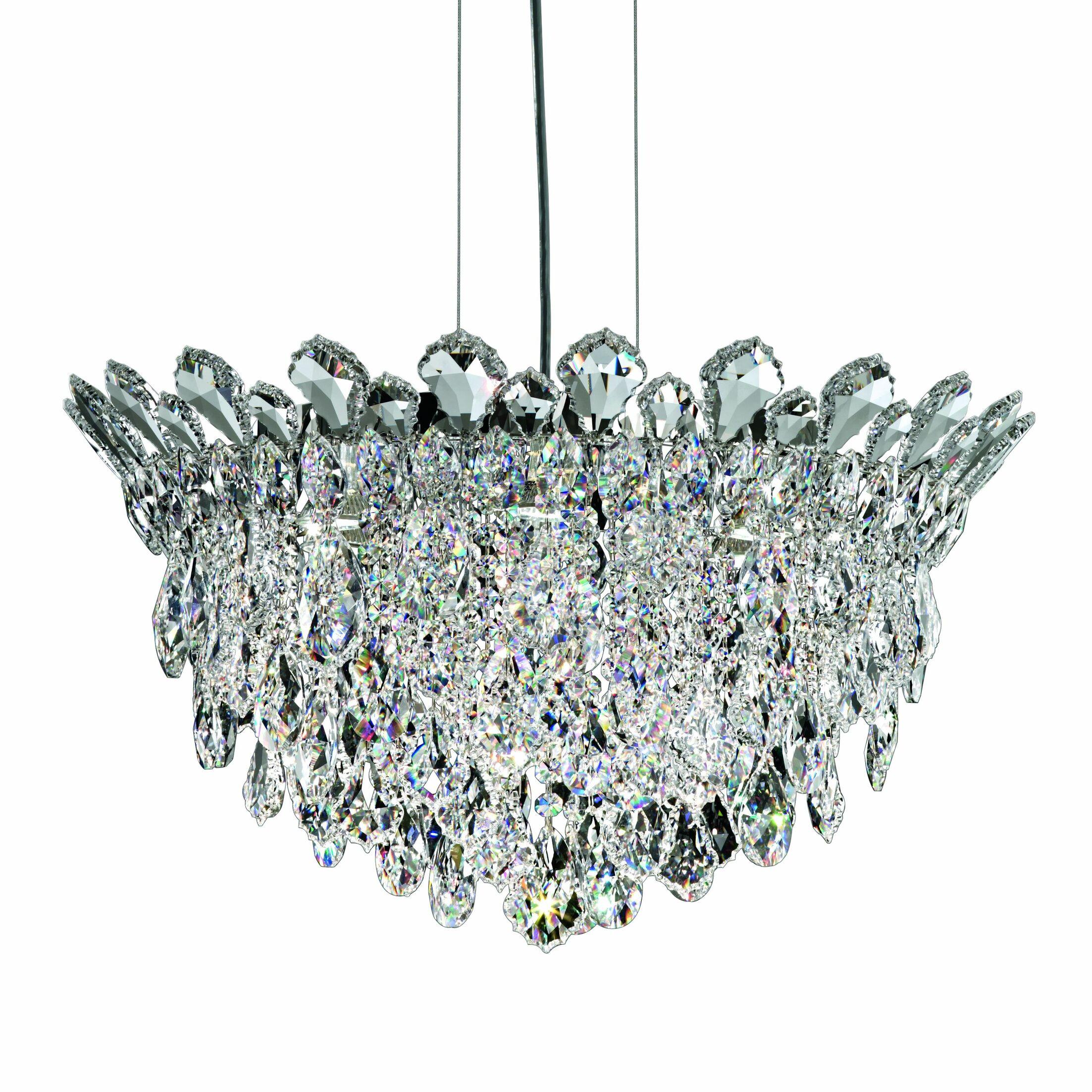 Trilliane Strands 6-Light Crystal Chandelier Crystal: Spectra