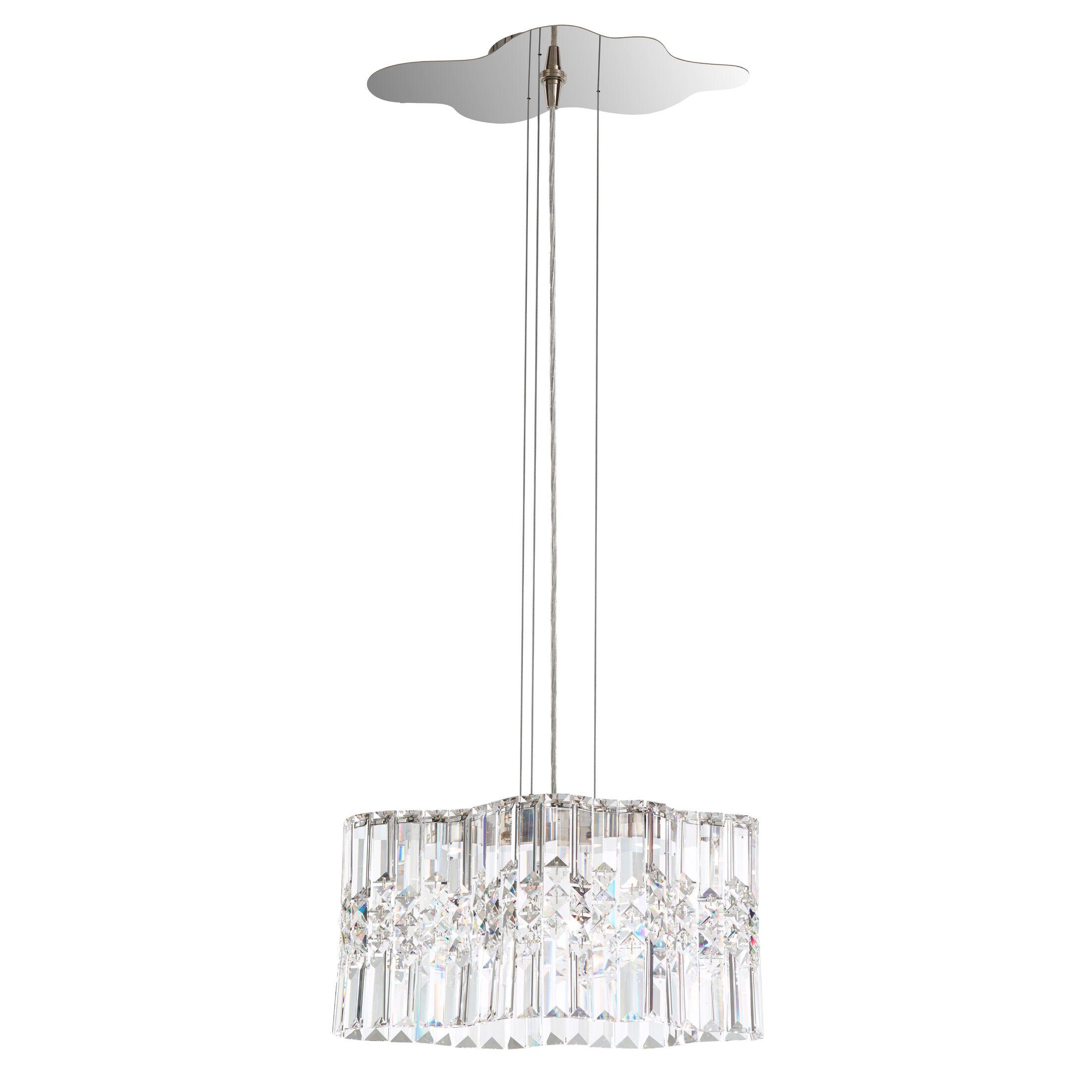 Selene 2-Light Crystal Chandelier