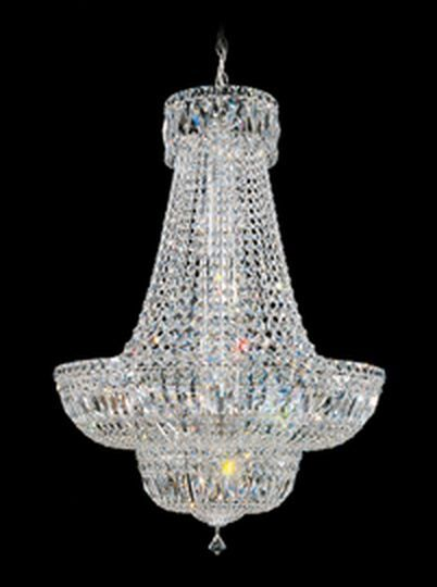 Petit Crystal Deluxe 16-Light Chandelier Size / Color / Crystal Color: 31