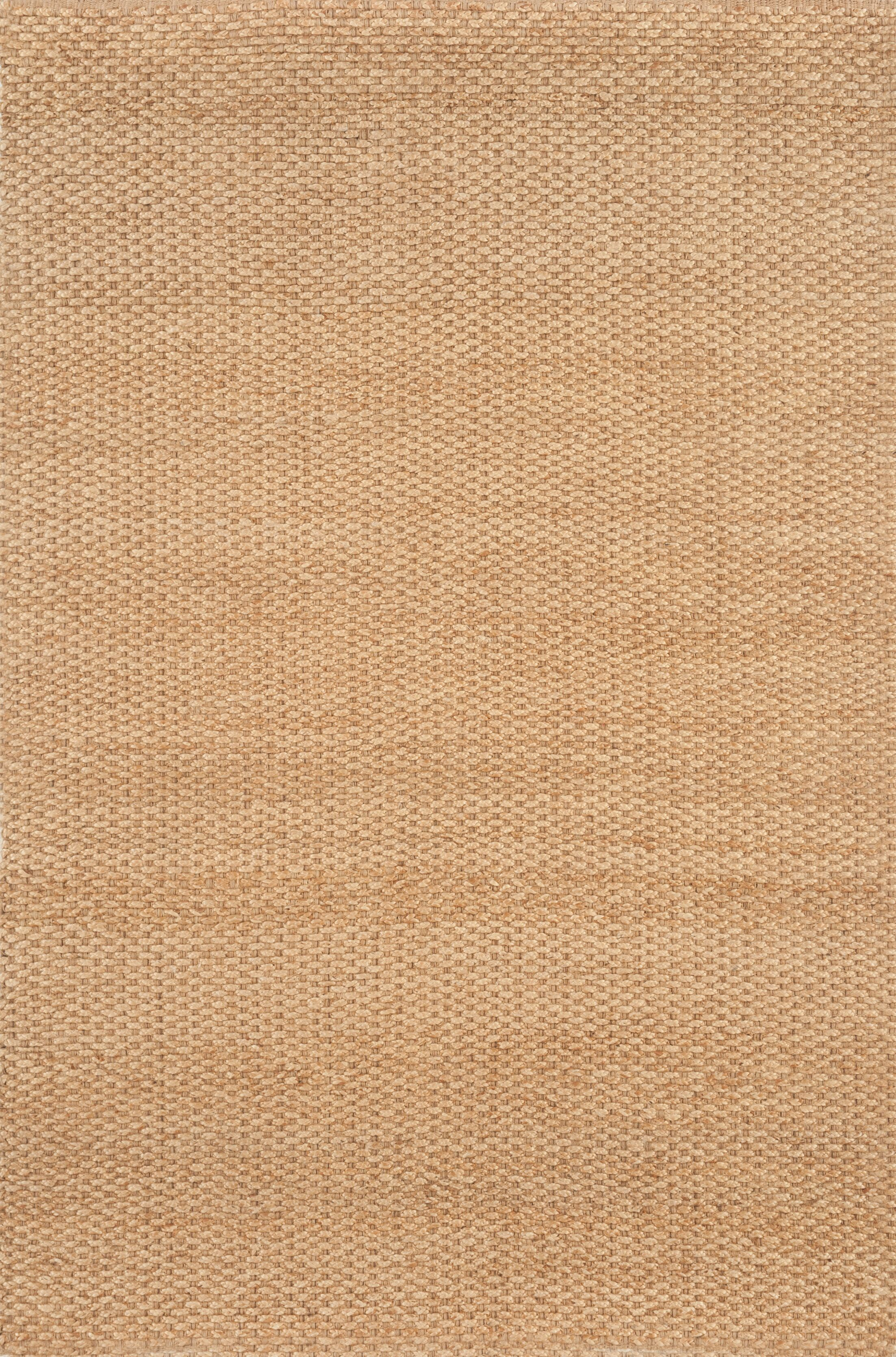 Hand-Woven Natural Area Rug Rug Size: Rectangle 3'6