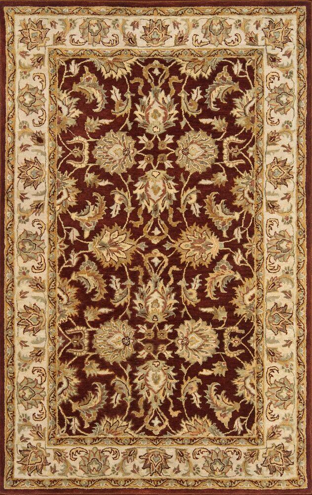 Meadow Breeze Burgundy Rug Rug Size: Rectangle 5' x 8'