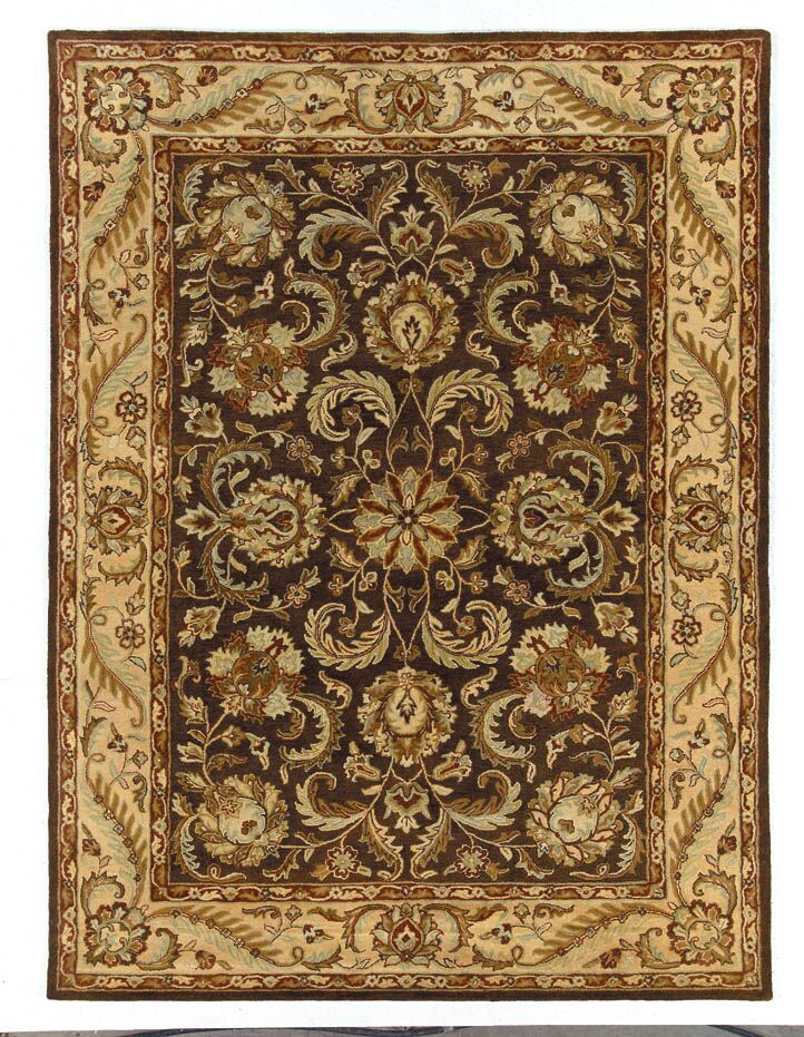 Meadow Breeze Brown Rug Rug Size: Rectangle 5' x 8'