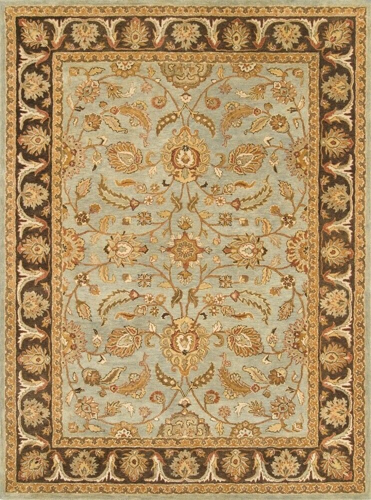 Meadow Breeze Light Spruce/Brown Rug Rug Size: Rectangle 4' x 6'