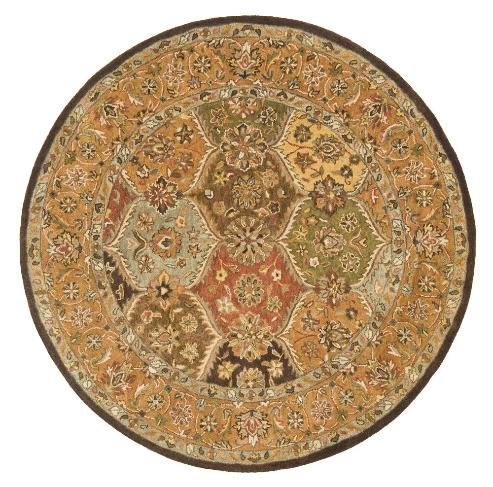 Meadow Breeze Multi Rug Rug Size: Round 10'
