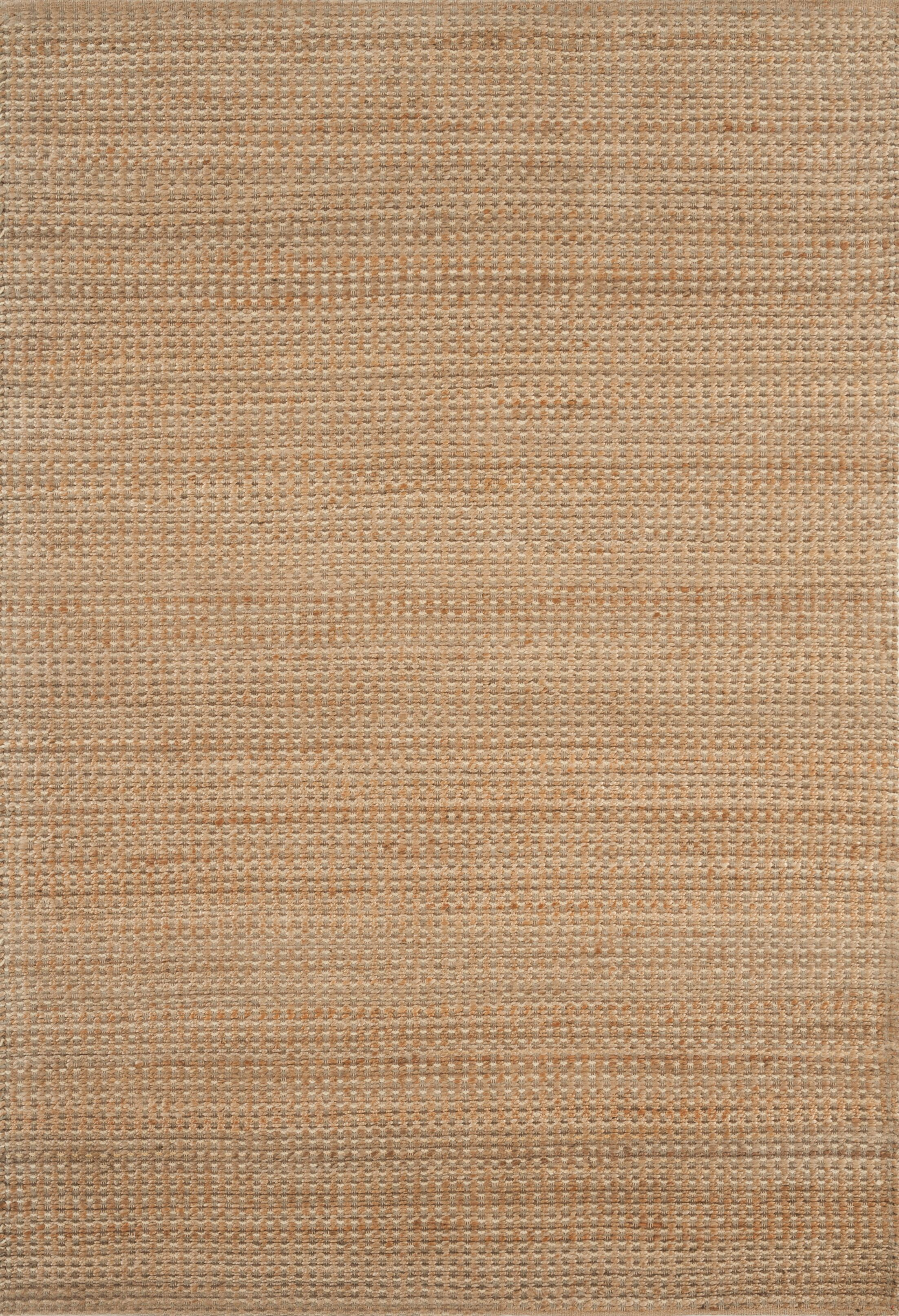 Jute Hand-Woven Tan Area Rug Rug Size: Rectangle 6'6
