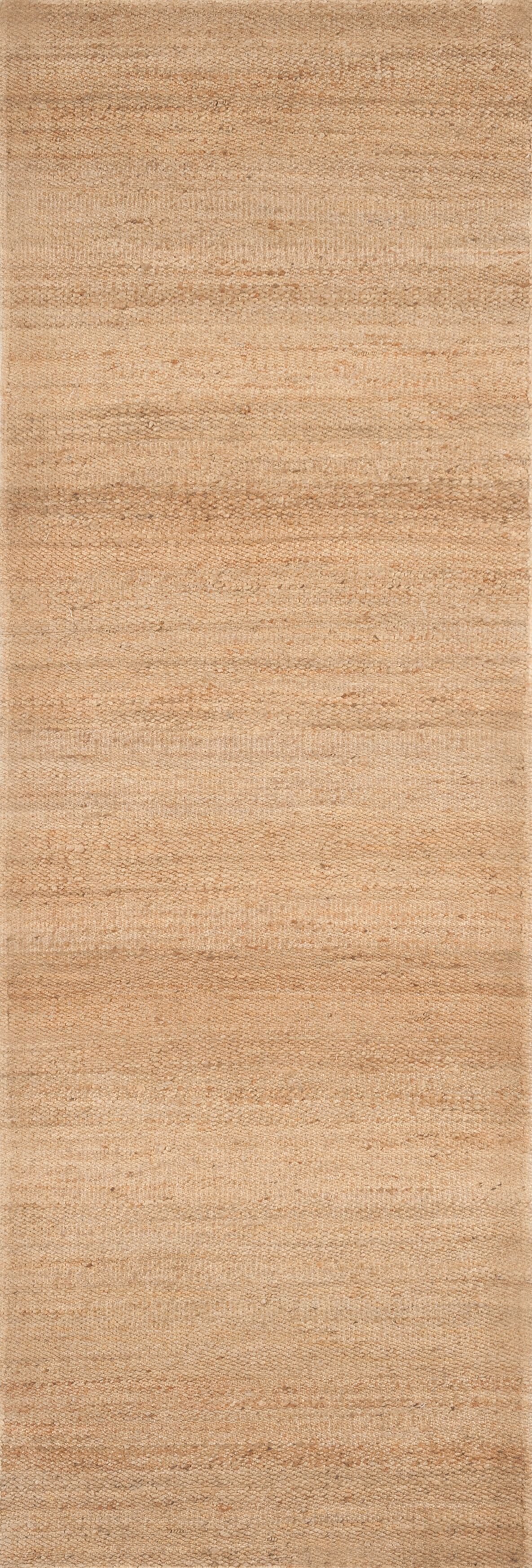 Hand-Woven Natural Area Rug Rug Size: Rectangle 8' x 10'