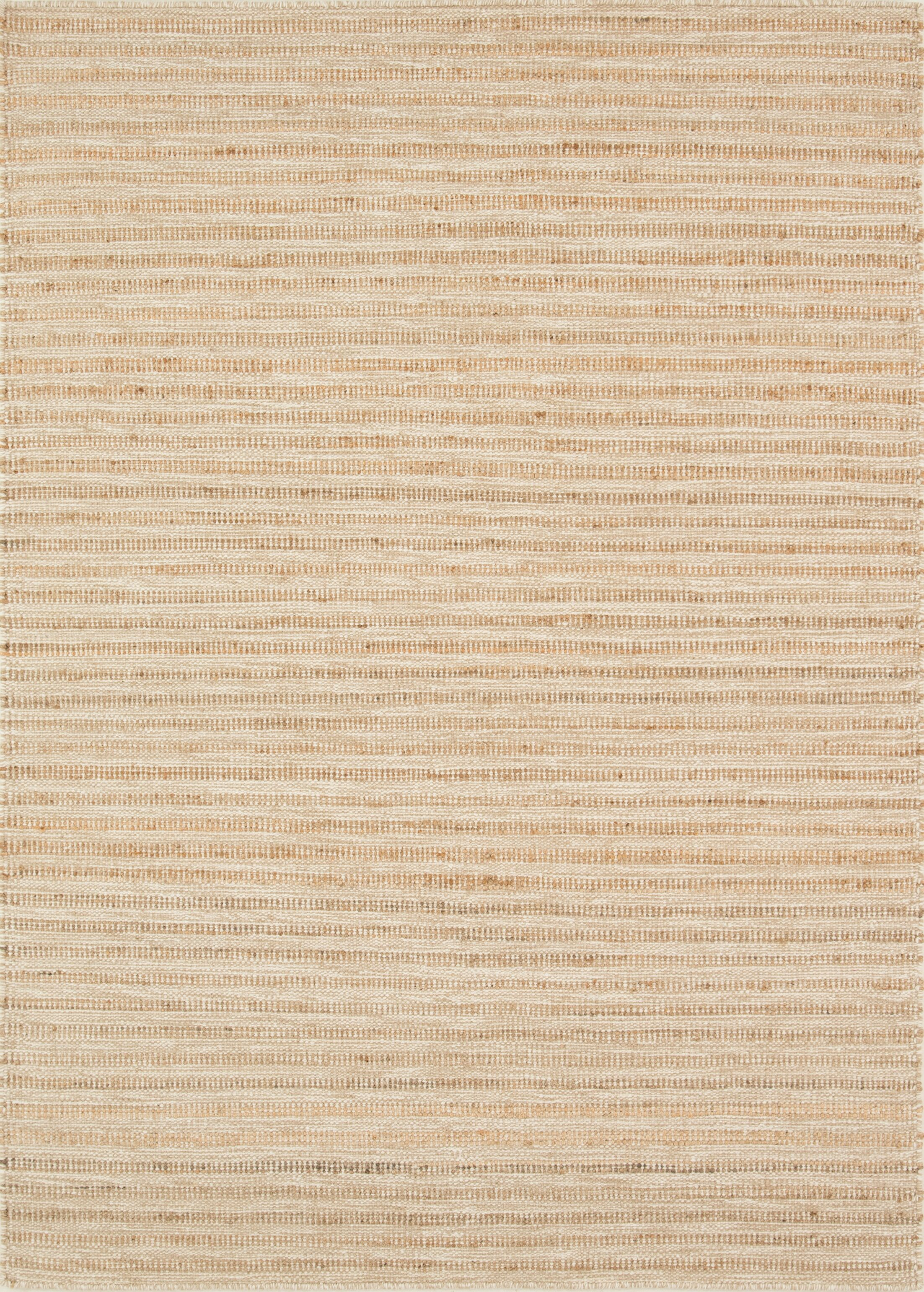 Nature's Mix Hand-Woven Flatweave Natural Area Rug Rug Size: 5' x 7'6