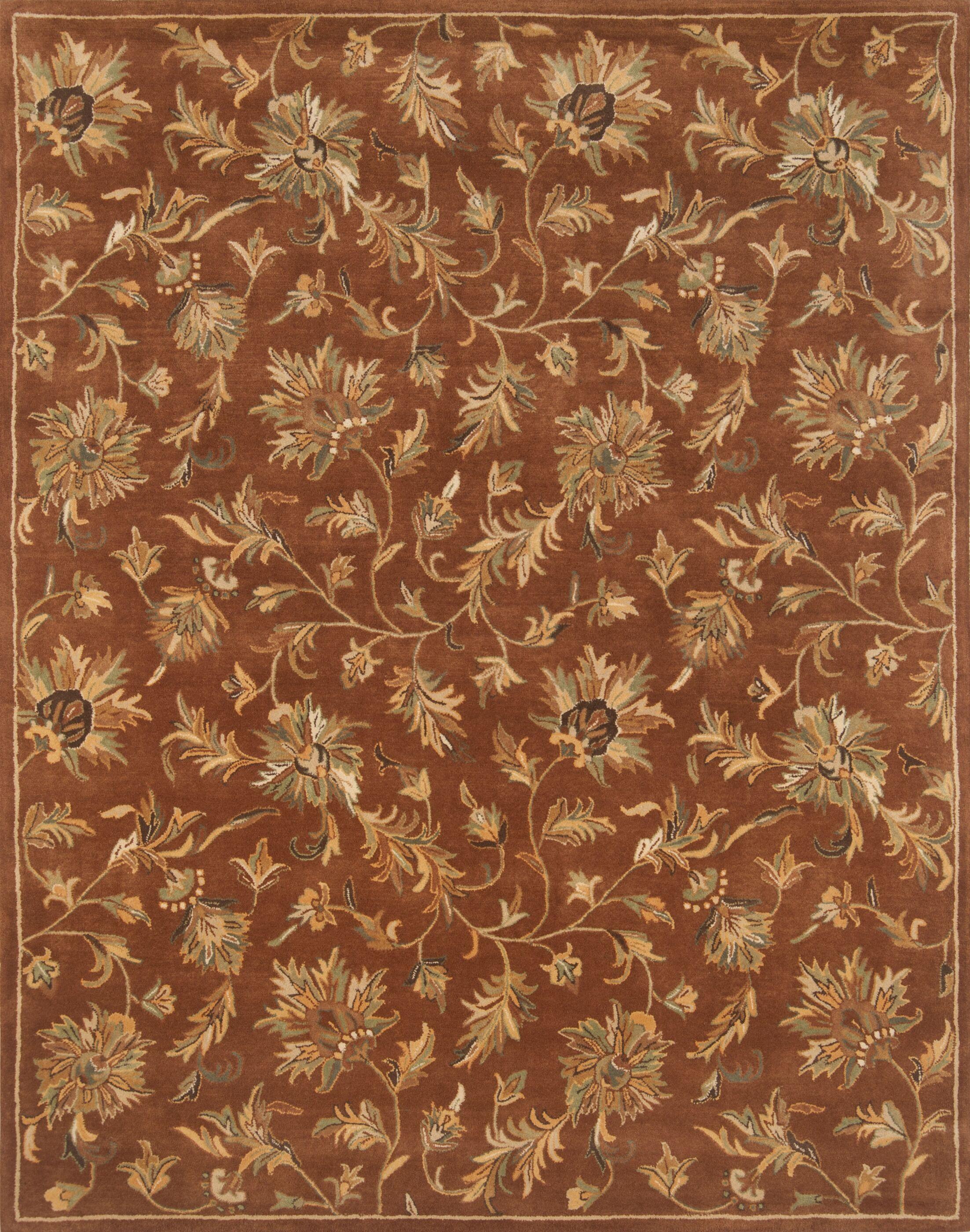 Pardis Copper Rug Rug Size: 7'9