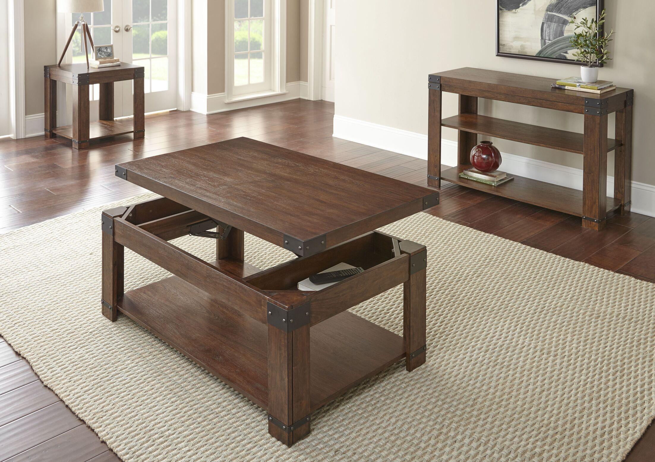 Angelique 3 Piece Coffee Table Set