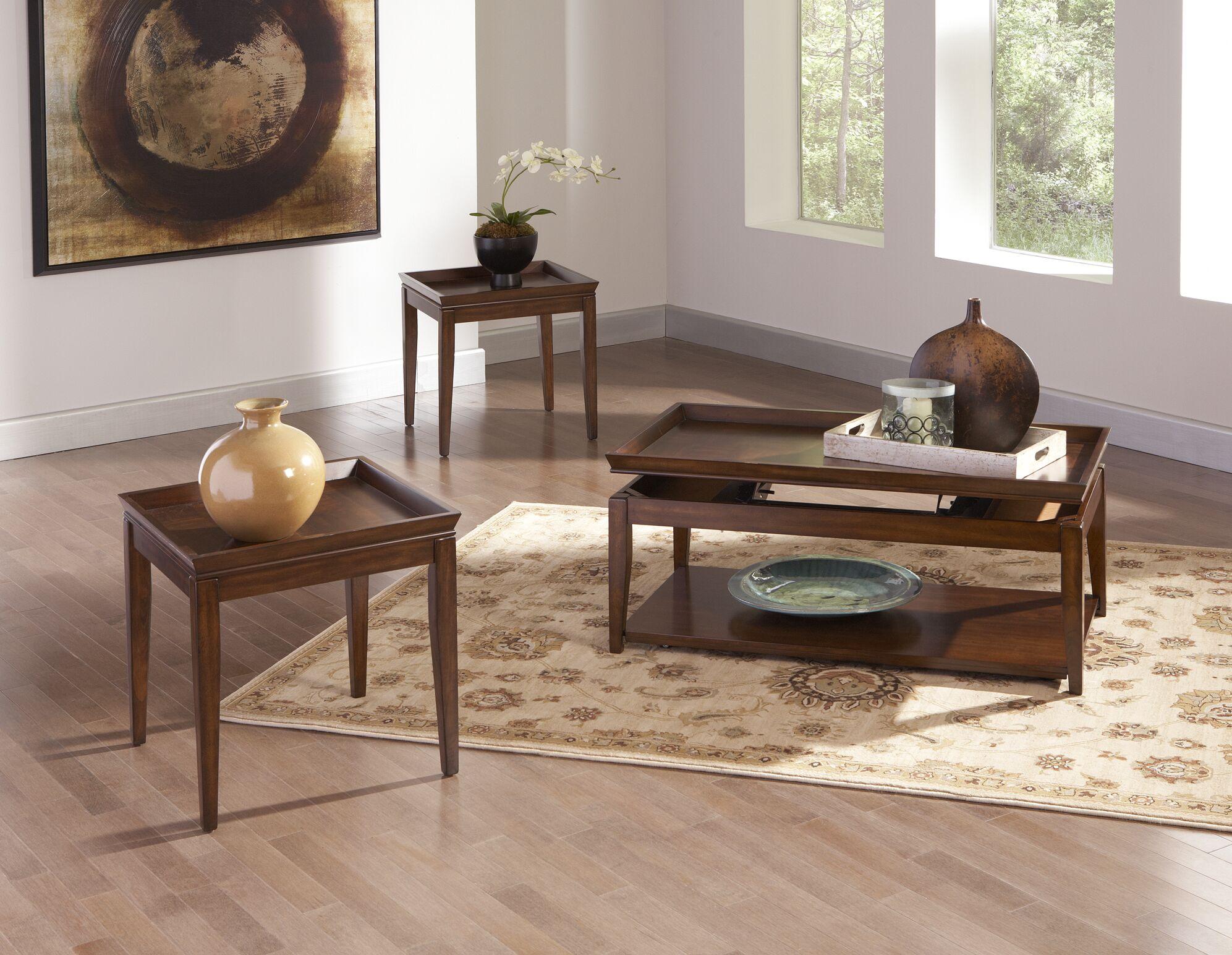 Clemson 3 Piece Coffee Table Set