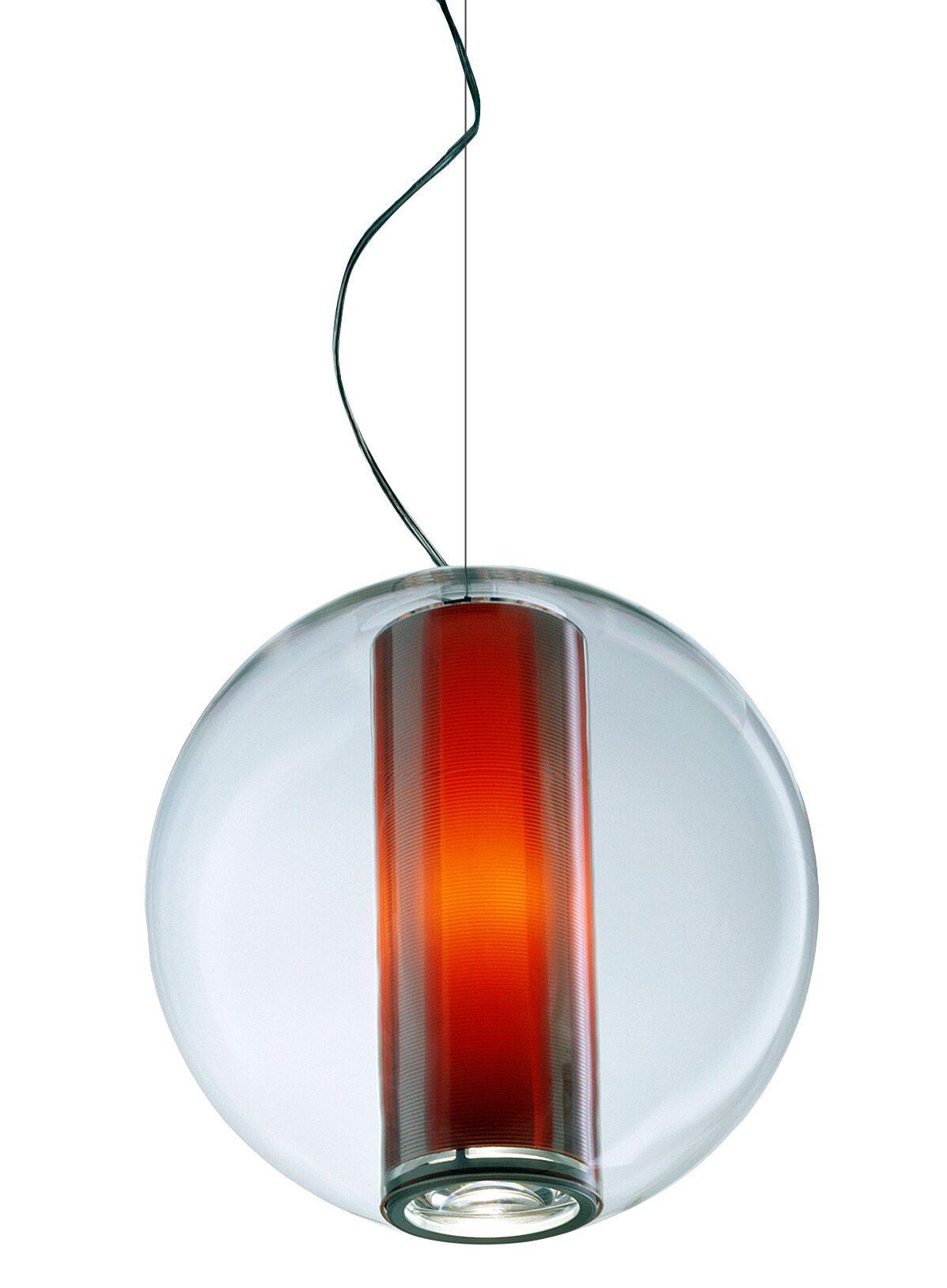 Bel Occhio 1-Light Pendant Color: Orange