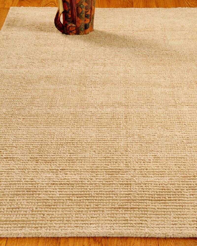 Wool Petra Wheat Area Rug Rug Size: Rectangle 6' x 9'