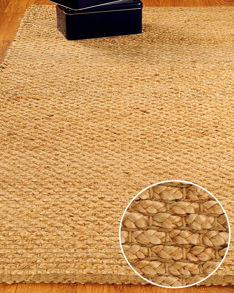 Jute Guilded Area Rug Rug Size: Rectangle 8' x 10'
