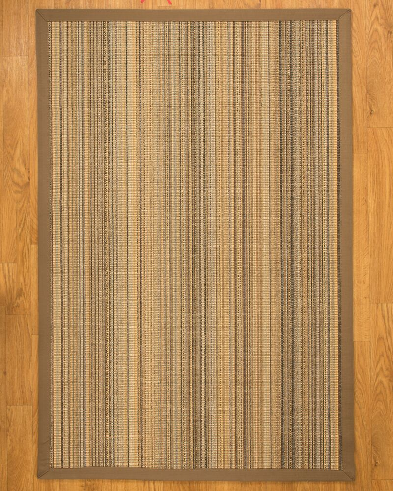 Galena Wide Canvas Border Area Rug Rug Size: Rectangle 8' x 10'