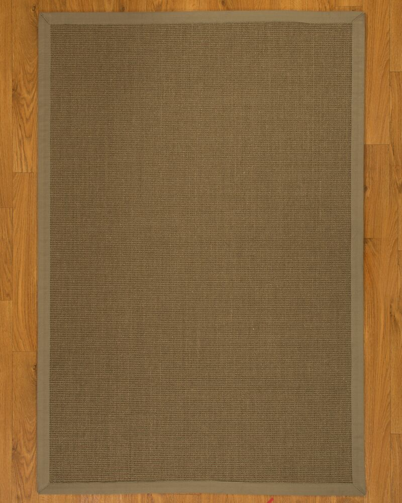 Geneva Wide Canvas Border Area Rug Rug Size: Rectangle 9' x 12'