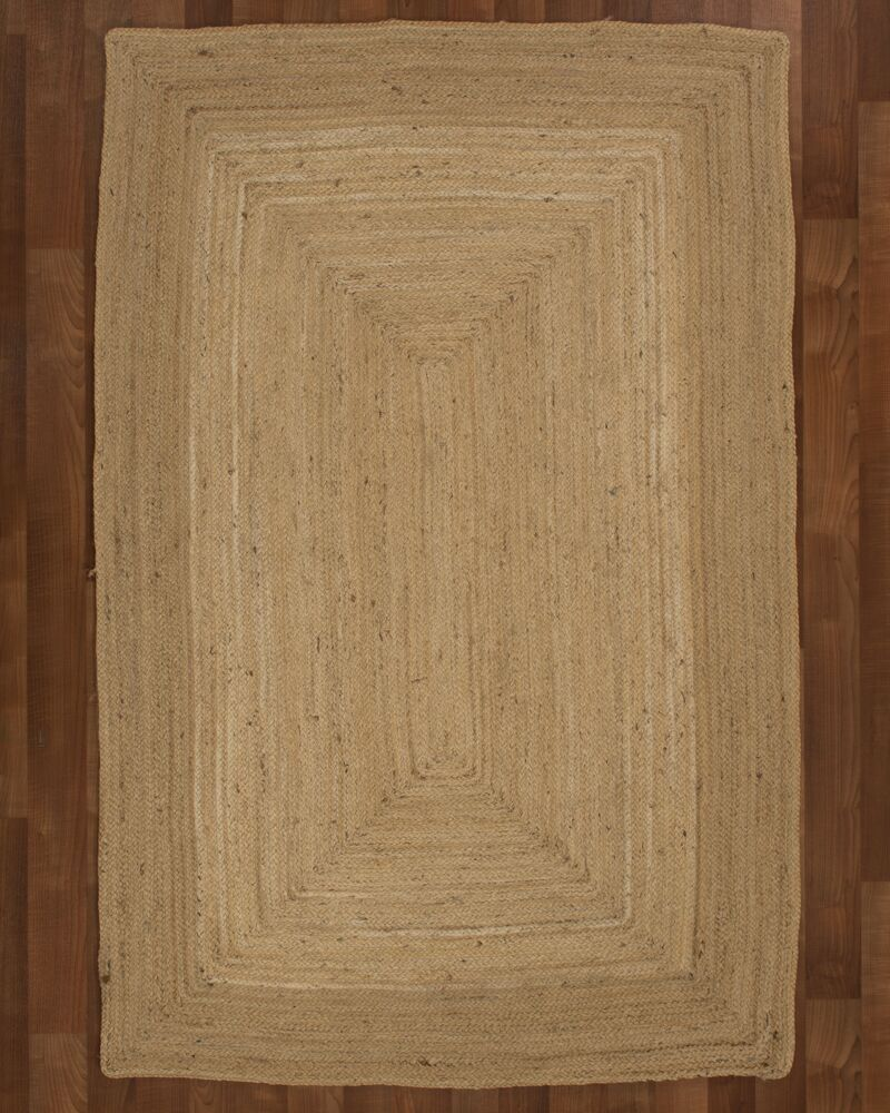 Cannes Jute Natural Area Rug Rug Size: Rectangle 6' x 9'
