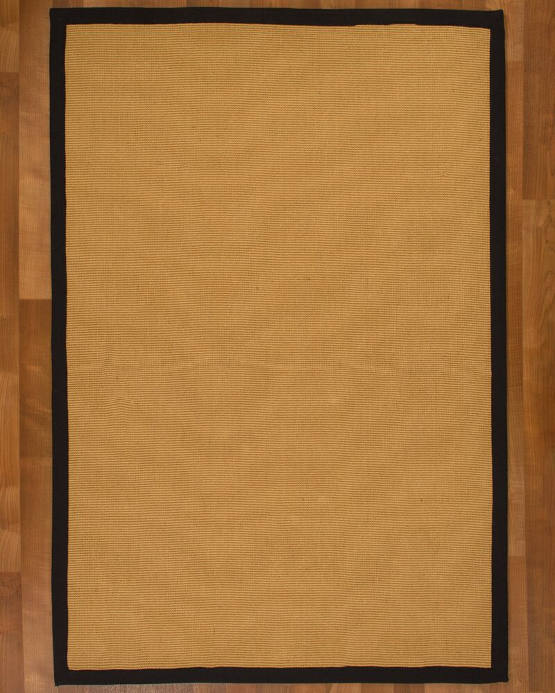 Arcadia Jute Beige  Natural Area Rug Rug Size: Rectangle 8' x 10'