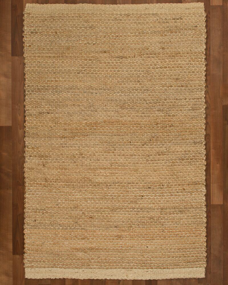 Colombo Jute Fibre Natural Area Rug Rug Size: Rectangle 9' x 12'